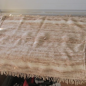 wool blanket churro Navajo
