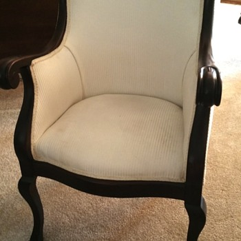 set of 2 auction chairs