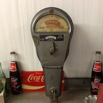 Parking meter 1960 - Coin Operated