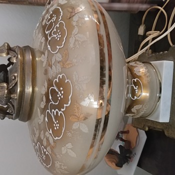 Hand painted lamp - Lamps