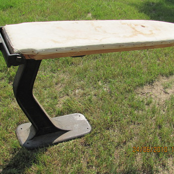 cast iron ironing table
