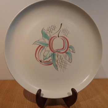 Poole Freeform Trudiana Charger - Art Pottery