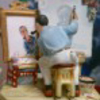 Norman Rockwell - Figurines