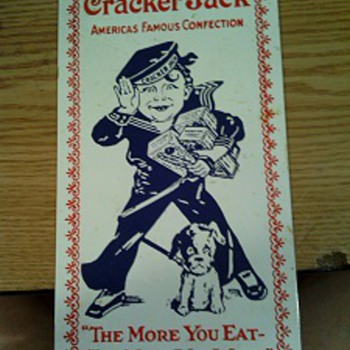 Cracker Jack Porcelain Enameled Sign - Signs