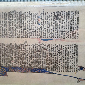 Book of Haggai, Illuminated Manuscript  - Paper