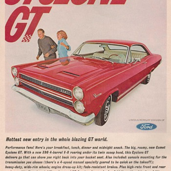 1966 Ford / Mercury Comet Advertisements - Advertising