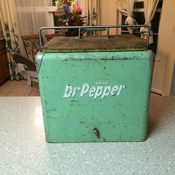 Dr Pepper cooler