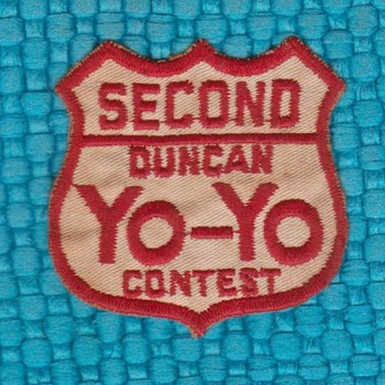 Vintage Yo-Yo Patch - Games