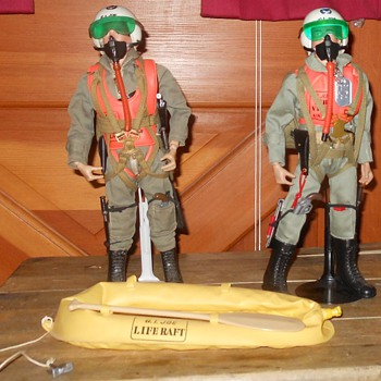 GI Joe Scramble Pilot Set 1964 - Toys