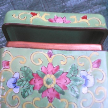 My enamel box