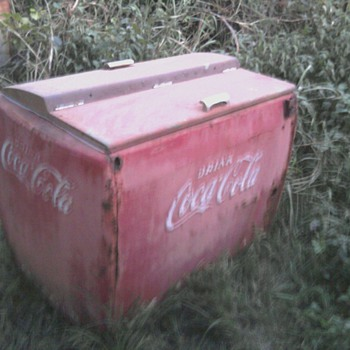 coca-cola ice only cooler - Coca-Cola