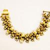Vintage Tortolani Pearl Cluster Bracelet