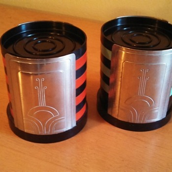 Art Deco Dura Drink Coasters Sets