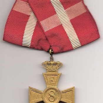 Denmark's Faithful Service Award - Military and Wartime