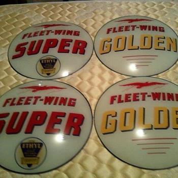 Fleet-Wing Golden Ethyl        And        Fleet-Wing Golden  - Petroliana