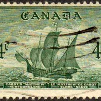"1949 - Canada ""Newfoundland"" Postage Stamp - Stamps"