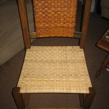 Cane seat chair - Furniture