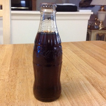 small coke bottle