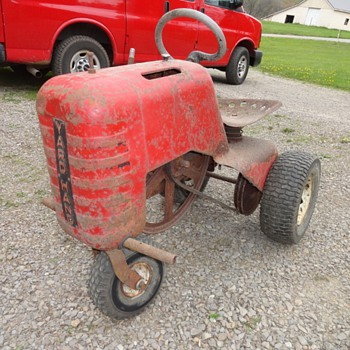 Vintage Sears Yard-Hand 3 wheeled Tractor - Tractors