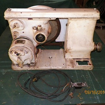 Pre WWII Meat Slicing Machine - Kitchen