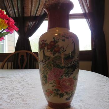 satsuma style vase?