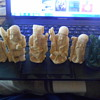 faux bone and maybe one jade chinese figurines