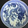 Blue White Asian plate