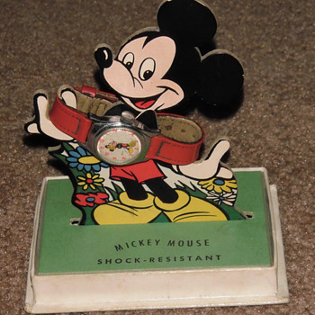 1952 Mickey Mouse Watch - Wristwatches