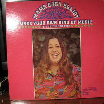 Mama Cass Elliot,Kitty Wells and Carole King - Records