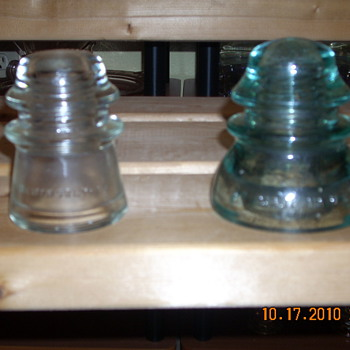 My Insulators collection
