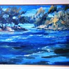 Original Brandon Warren FRSA Oil Painting 1975  30 x 24""