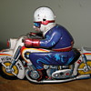 Toy Tin motorcycle Japan