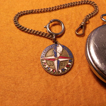 Festival of Britain Watch Fob - Pocket Watches