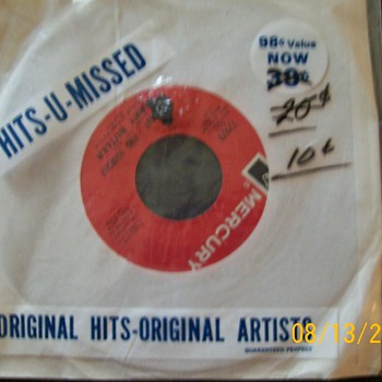45&#039;s in Shrink wrap .Stamped Hits you missed  - Records