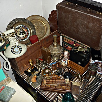 Just a selection of bits and bobs in a corner