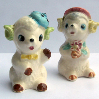 Little Ram Salt and Pepper Shakers - Kitchen
