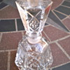 Cut glass perfume bottle....