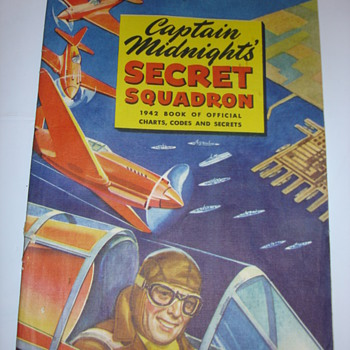 CAPTAIN MIDNIGHT  SECRETS SQUADRON 1942 - Paper