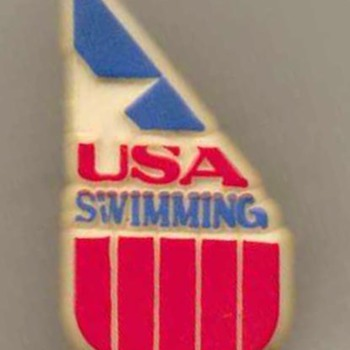 1984 - Olympic USA Swimming Team Pin