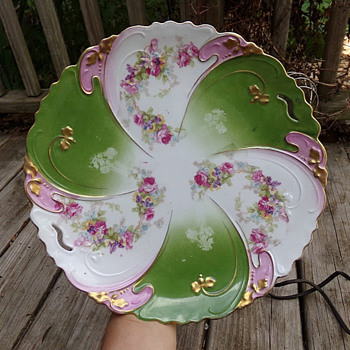 Austrian Cake Plate - China and Dinnerware
