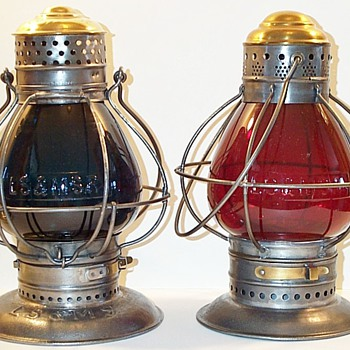 LS&MS Railroad Lanterns - Railroadiana