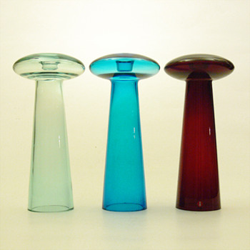 ATLAS candleholder, Harri Koskinen (Iittala, 1996) - Art Glass