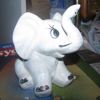 Comical elephant figure