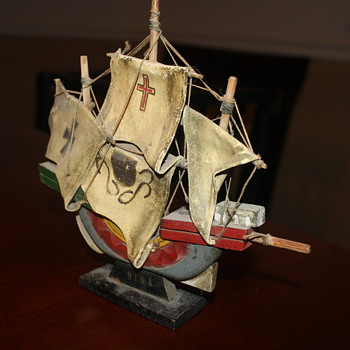 Mystery Toy Ship