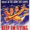 "POSTER, VHS MOVIE & SHEET MUSIC for 1941 ""Keep 'Em Flying"" Bud Abbott & Lou Costello"