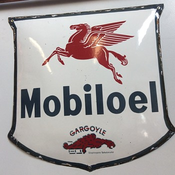 Mobil oil shield from Germany