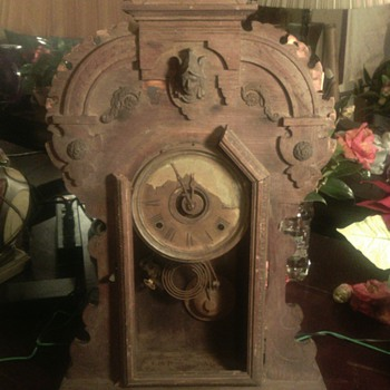 My 1899 Seth Thomas Clock