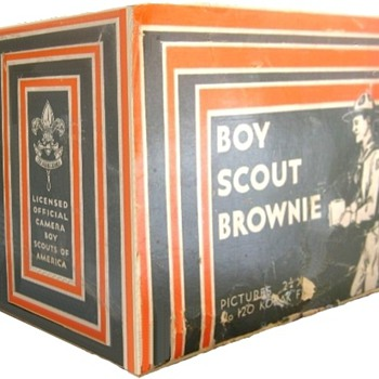 Boy Scout Brownie &amp; Six-20 Boy Scout Brownie