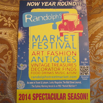 Randolph Street Market - Posters and Prints