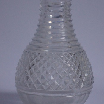 Regency Carafe - Art Glass